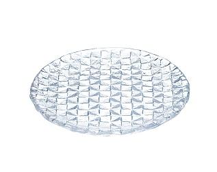 グリッドプレート 15cm丸皿(クリアー) GP-015$