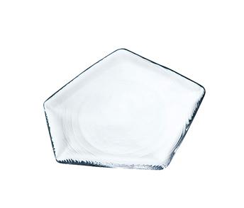 氷紋 プレート S(クリアー) HMN-1816W$