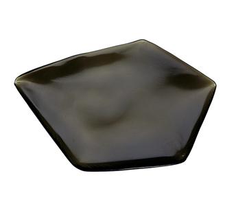氷紋 プレート L(カーボンブラック) HMN-2419CN$