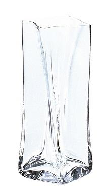 ヘレン 四角花器 M(クリアー) HN-1028W$